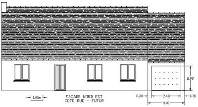 Demande de permis de construire pour le garage - Agrandissement garage permis de construire ...